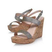 Carvela Kay high wedge heel sandals