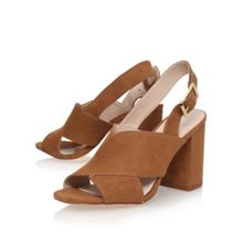Carvela Serene high heel slingback court shoes