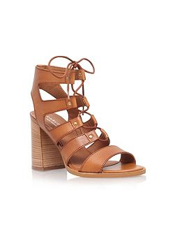 Kandice high heel lace up sandals