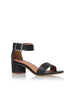 Shadow mid heel sandals