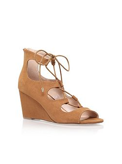 Sophia high heel wedge sandals