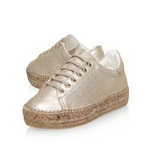 KG Lovebug low heel lace up trainers