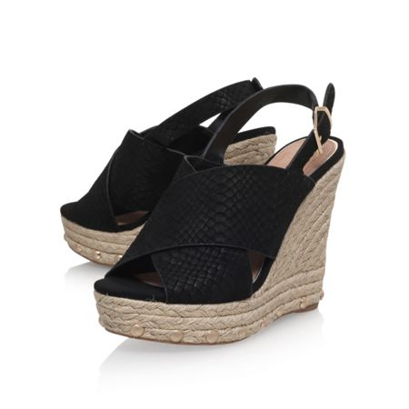 KG March high wedge heel sandals