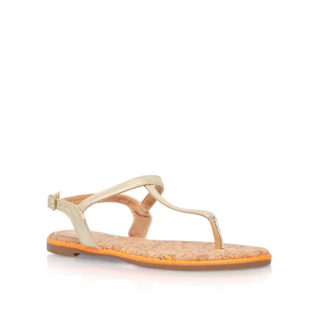 Miss KG Riva low heel toe post sandals