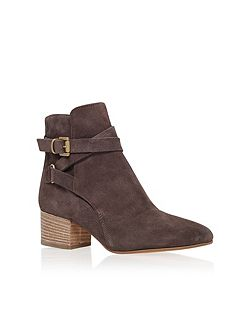 Spartan high heel ankle boots