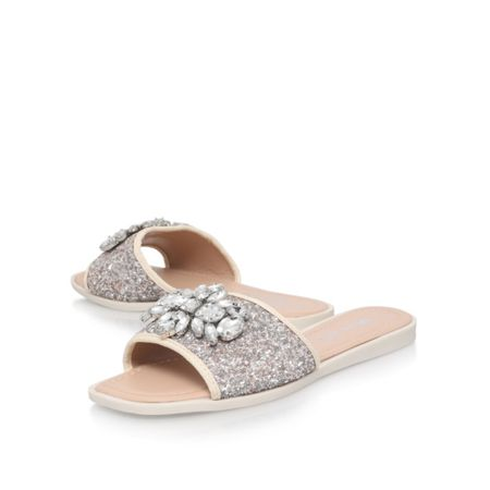 Miss KG Rebecca 2 flat slip on sandals