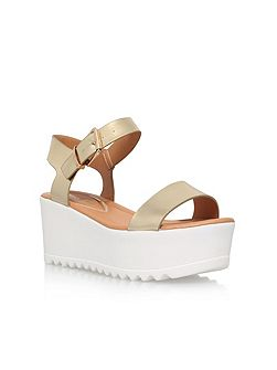 Poppy 2 high wedge heel sandals