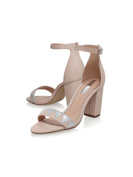 Miss KG Faye 2 mid heel sandals Nude - House of Fraser