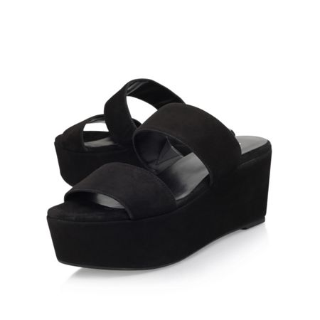 Carvela Kupcake high wedge heel sandals