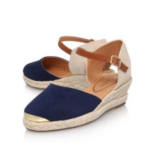 Miss KG Lea mid wedge heel sandals