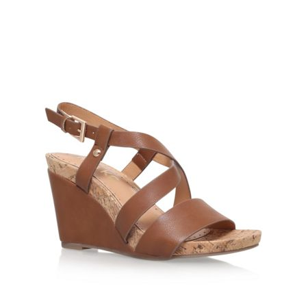 Miss KG Pascal high wedge heel sandals