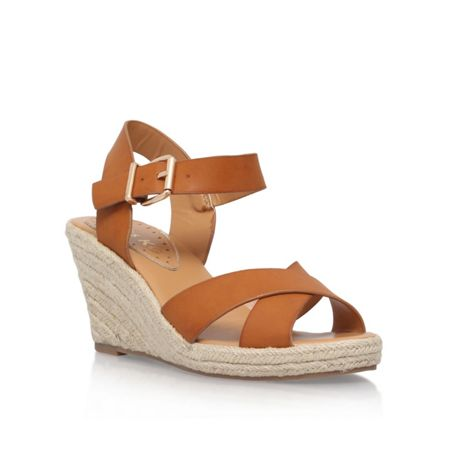 Miss KG Pineapple 2 mid wedge heel sandals