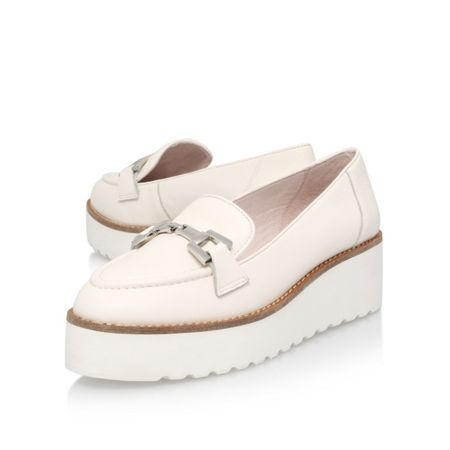 Carvela Latch platform slip on brogues