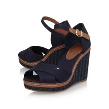 Tommy Hilfiger Elena 4d high wedge heel sandals