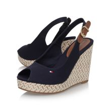 Tommy Hilfiger Elena 7d high wedge heel sandals