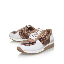 Michael Kors Allie flat lace up sneakers