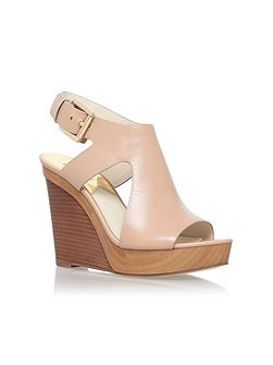 Josephine high heel wedge sandals