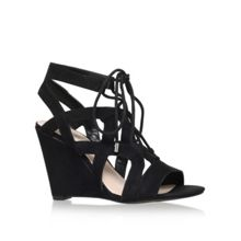Nine West Provokes lace up wedge sandals