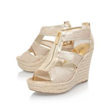 Michael Kors Damita high wedge heel sandals