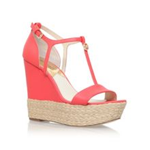 Michael Kors Kerri wedge high heel wedge sandals