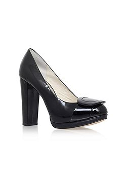 Pauline platform high heel court shoes