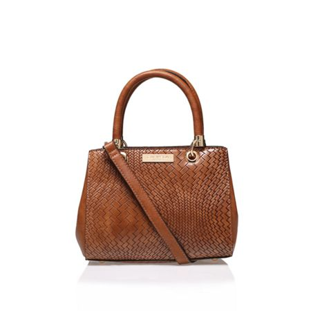 Carvela Dea weaved structured bag