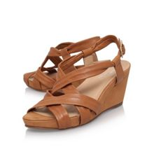 Carvela Comfort Sasha high wedge heel sandals