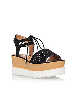 Phoenyx high wedge heel sandals