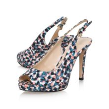 Nine West Emilyna3 high heel slingback shoes
