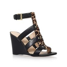 Nine West Falissa8 high wedge heel sandals