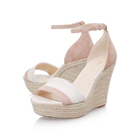Nine West Jutty high wedge heel sandals