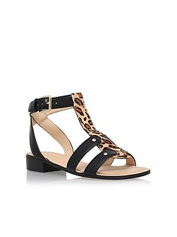 Yippee3 low heel sandals