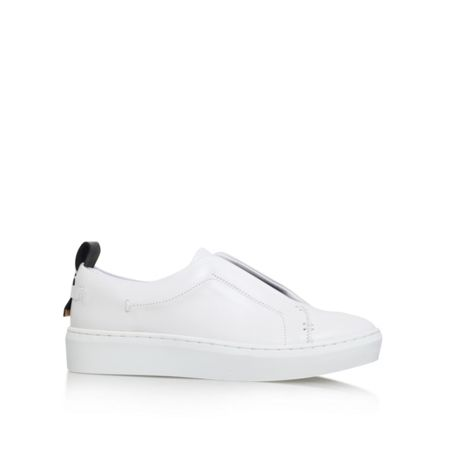 KG Lille flat lace up trainers