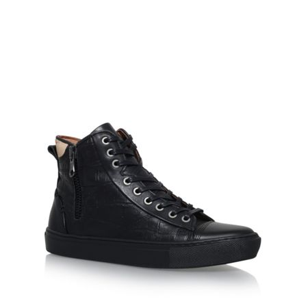 KG Procell lace up high top croc sneakers