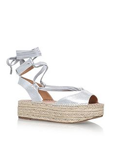 Marlo platform lace up sandals