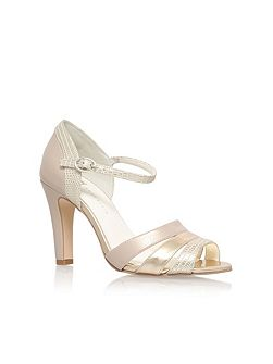 Peplum3 high heel sandals