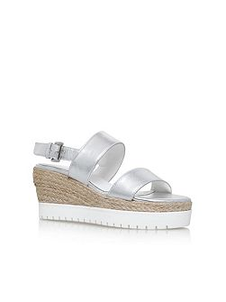 Kup high heel wedge sandals