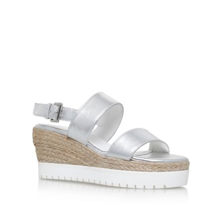 Carvela Kup high heel wedge sandals
