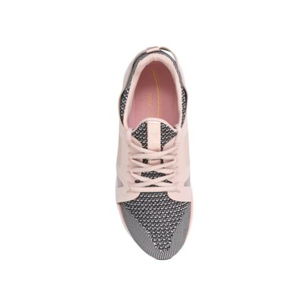 Nine West Hyde2 flat lace up trainers
