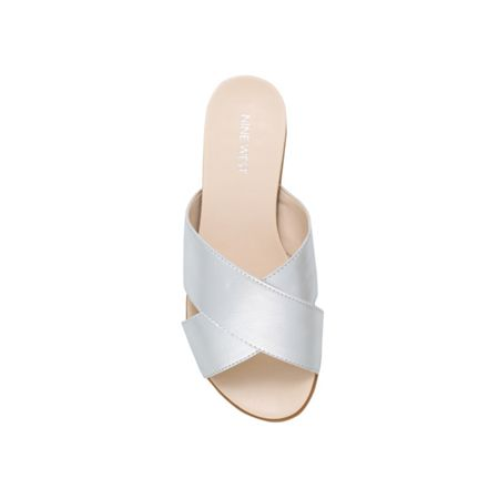 Nine West Dontjudge9 flat slip on sandals