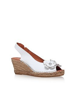 Poppy high wedge heel sandals
