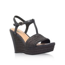 UGG Fitchie high heel wedge sandals