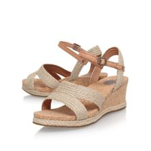UGG Luann high wedge heel sandals