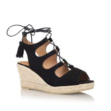 Kanna Luna high wedge heel sandals