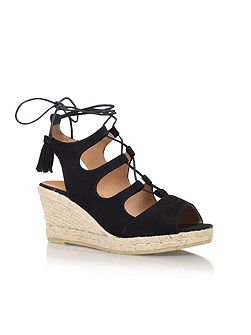 Luna high wedge heel sandals