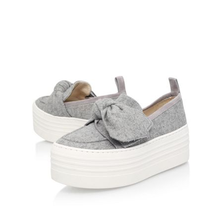 KG Lucky platform slip on wedges