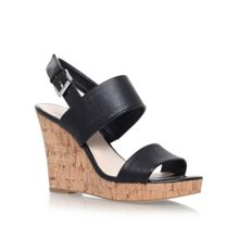 Nine West Lucini high wedge heel sandals