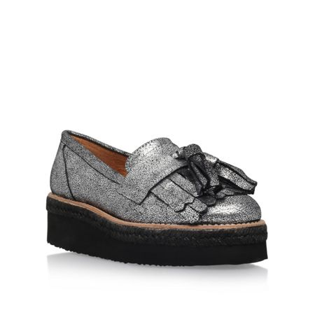 Carvela Lou mid heel slip on loafers
