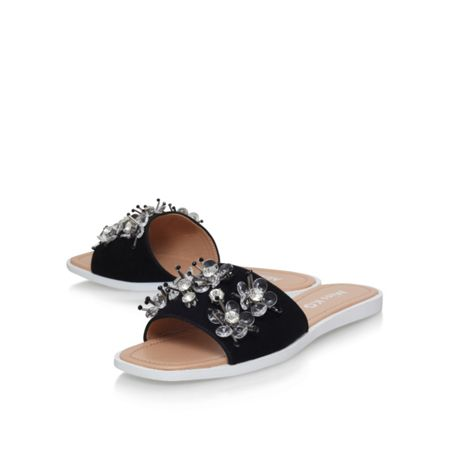 Miss KG Dandelion flat slip on sandals