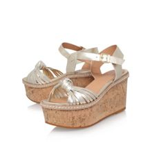 Carvela Katrina high wedge heel sandals